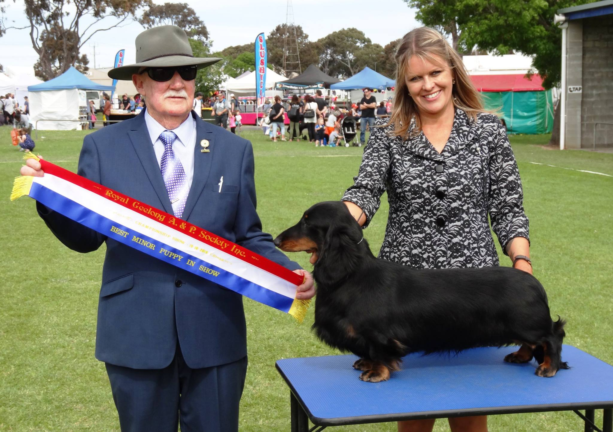 'Ringo' Wins Another Best Minor Puppy in Show!