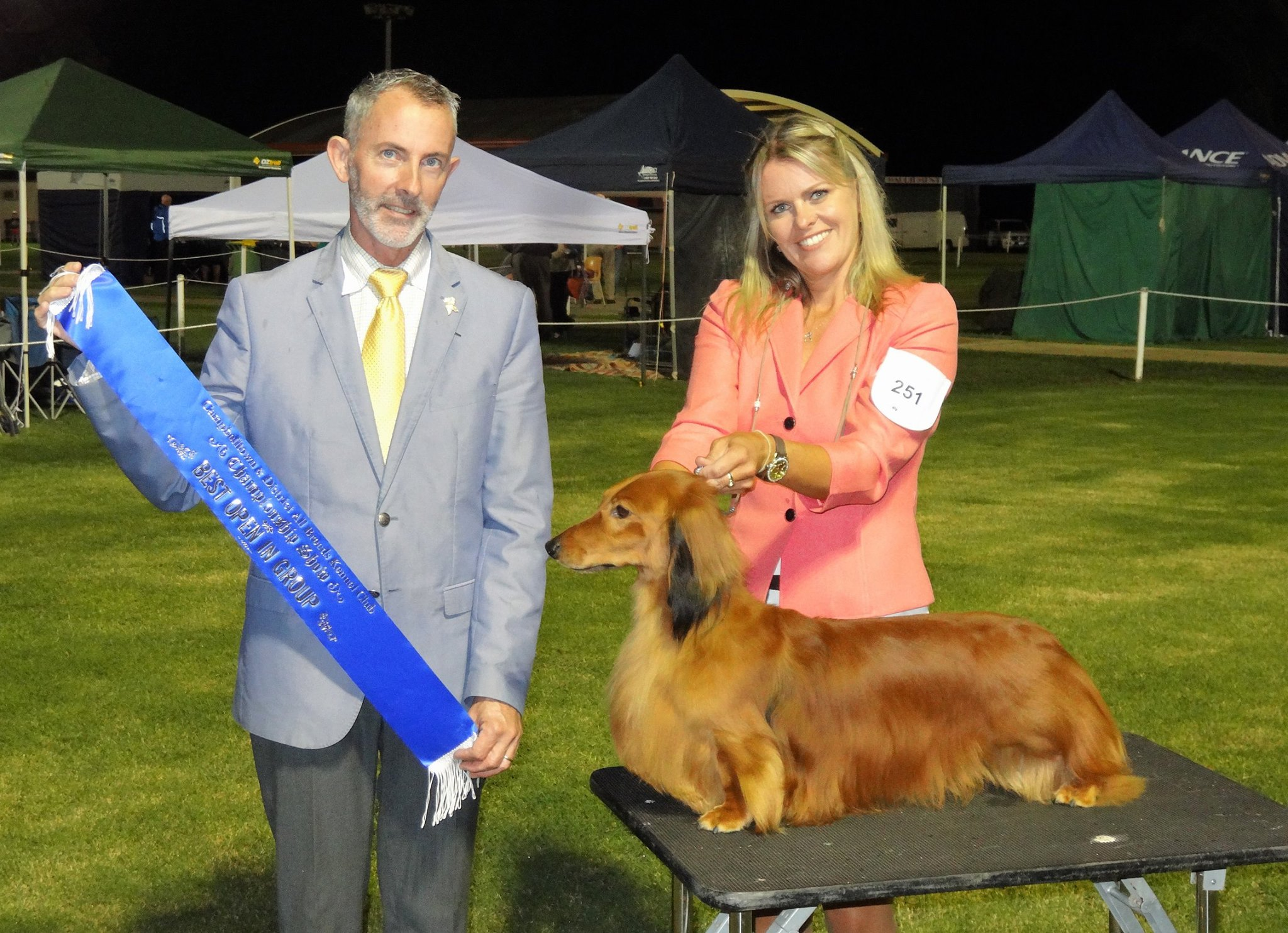 Jimmy Wins Best in Group at Campbelltown & Districts All Breeds Kennel Club