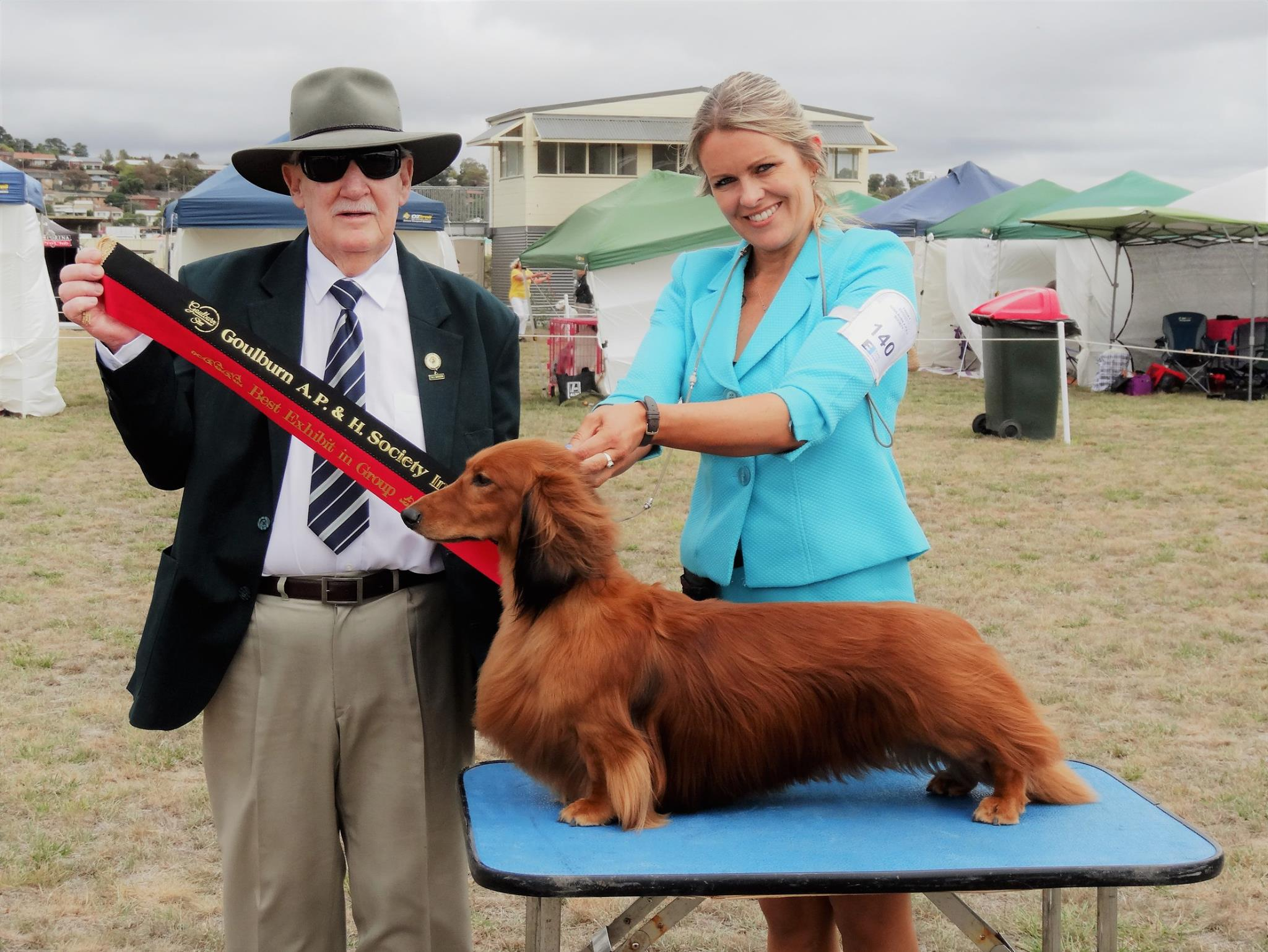 'Jimmy' Wins Best In Group at Goulburn
