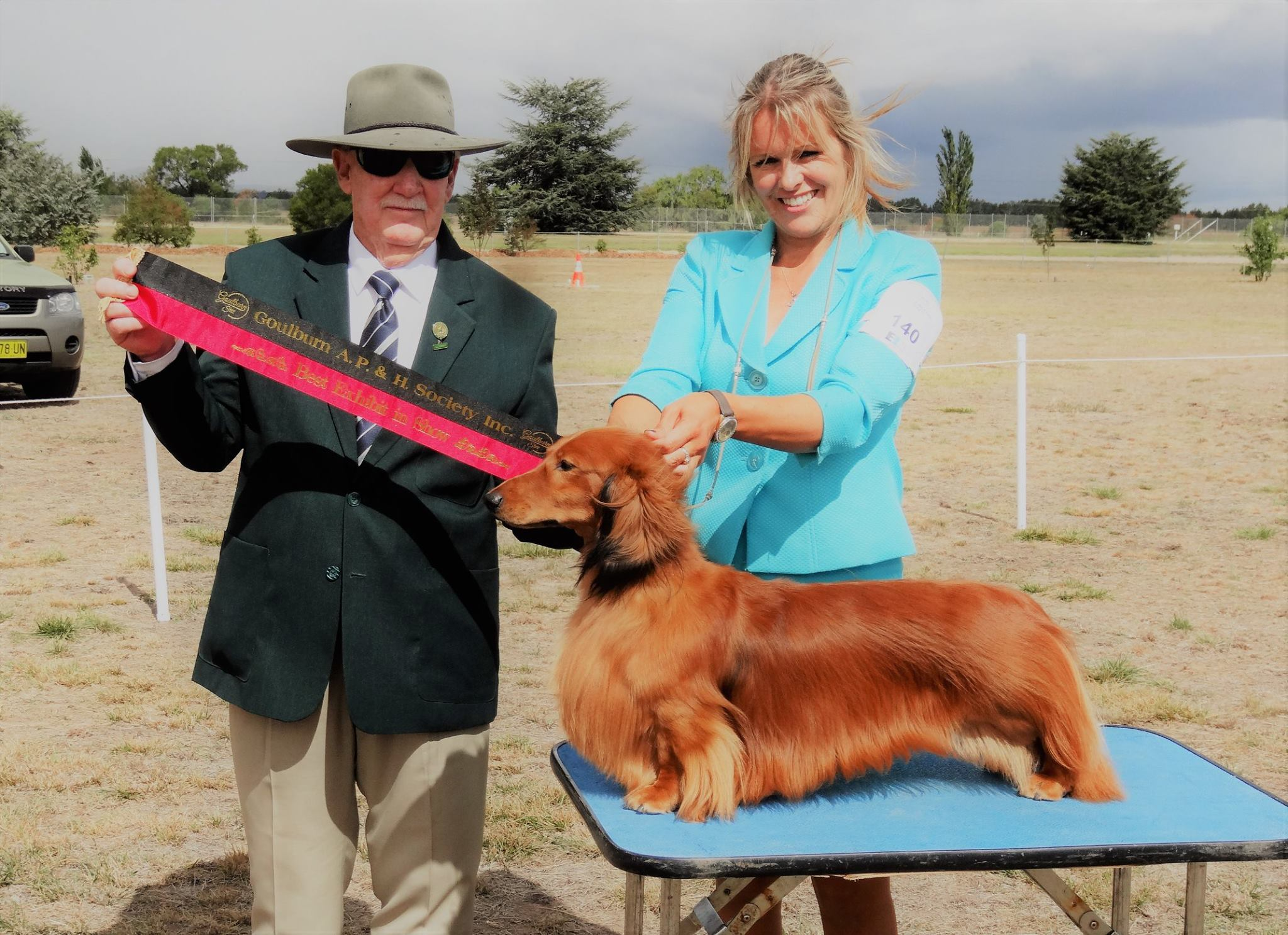'Jimmy' Wins Best In Show at Goulburn