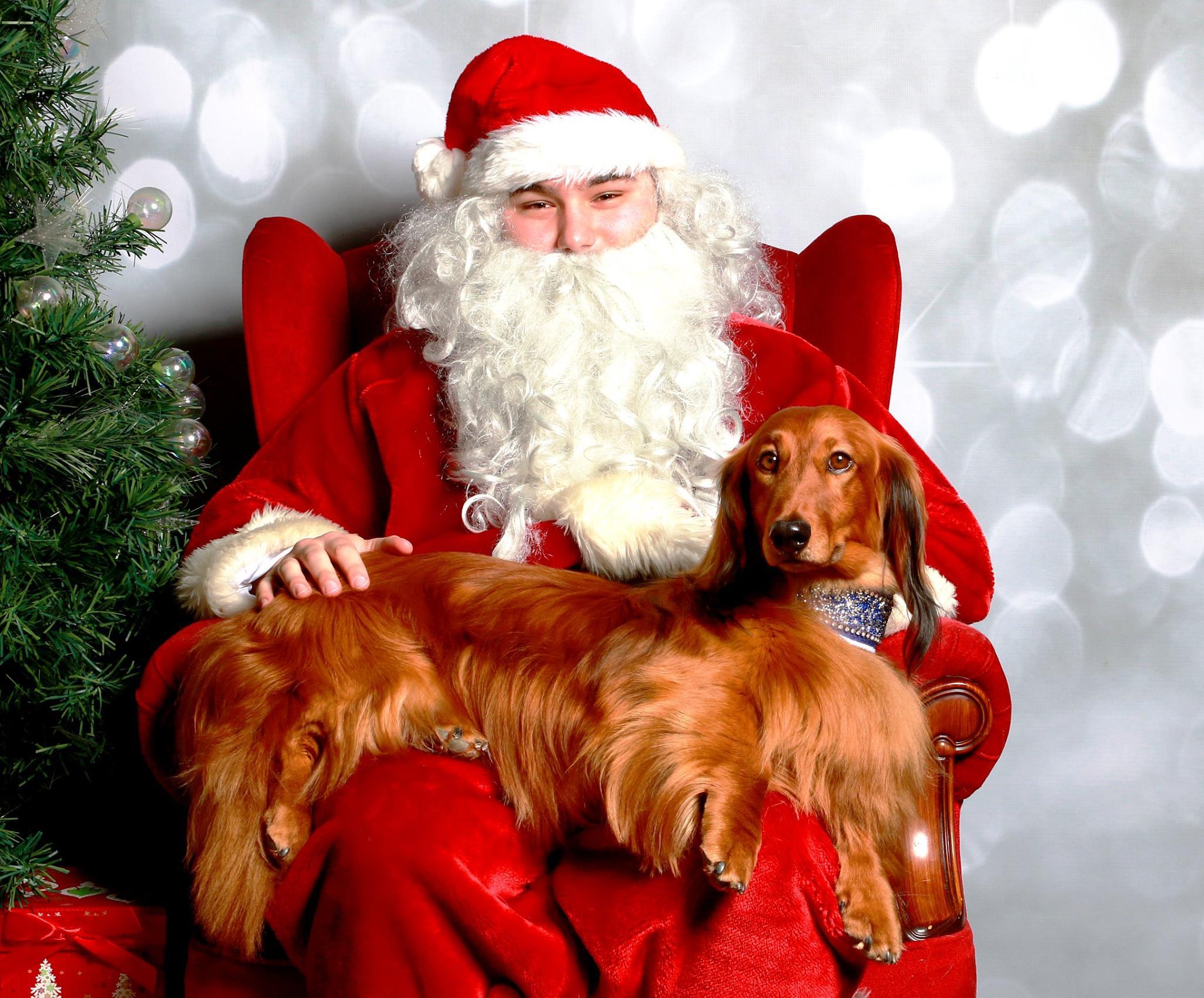 Jimmy & Santa Wish You a Very Happy Christmas!